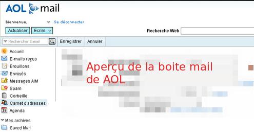 AOL Mail en français