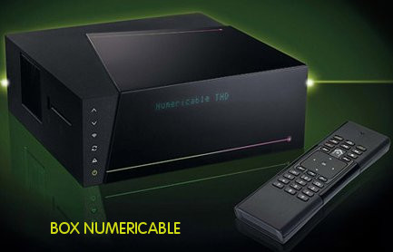 La box de numericable