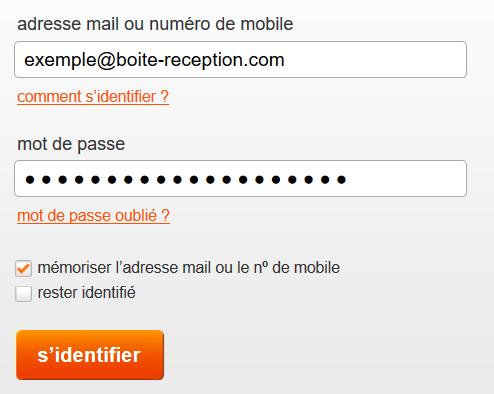 connexion mail orange