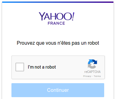 Robot : anti-spam
